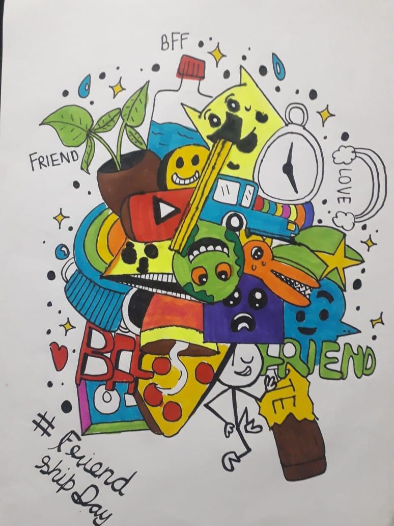 kawai doodling