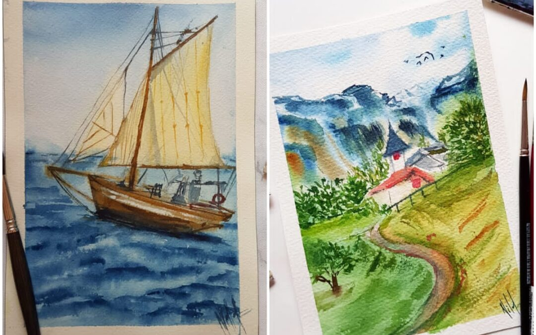 Watercolor Painting – Two days online Workshop