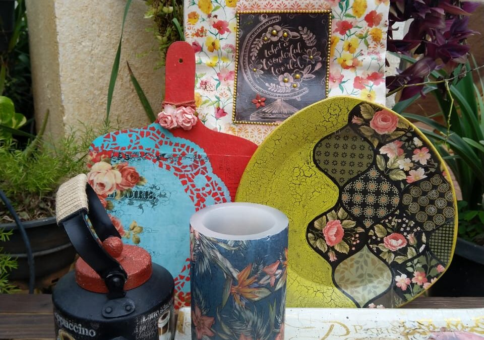 Decoupage Masterclass Online Workshop