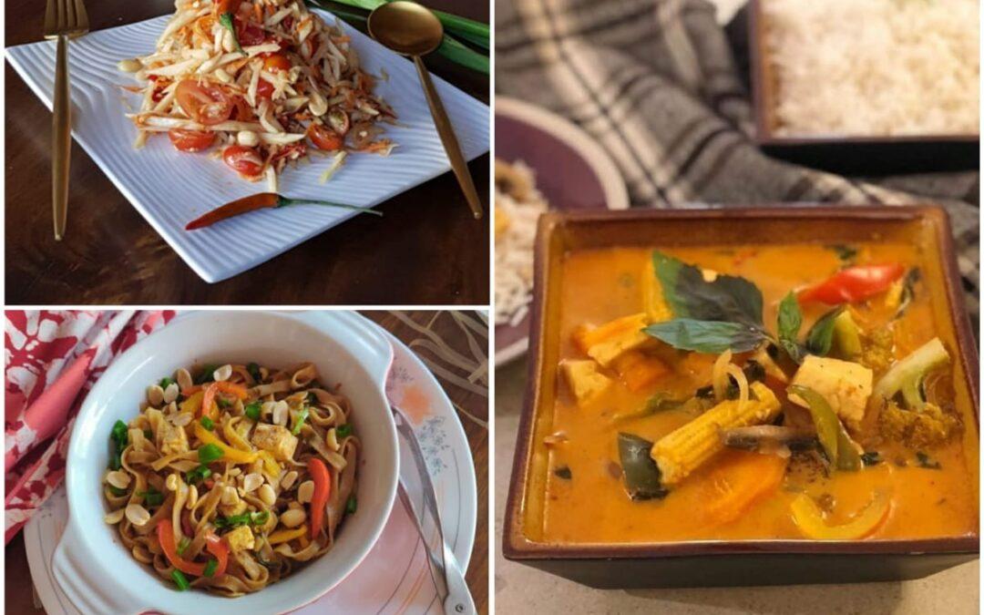 Thai Food Cooking Online Workshop