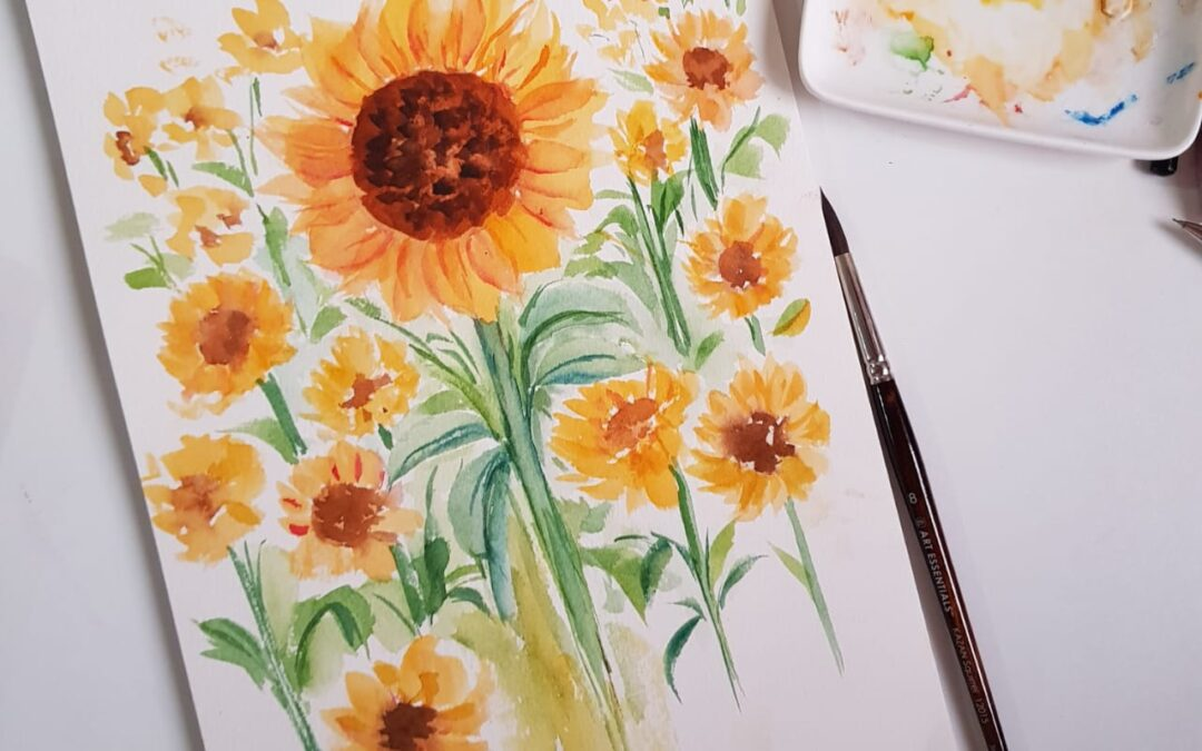 Watercolor Painting Free Insta Session